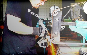 Crafting Method - Grinding & Rough Sanding