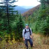 Hiking the mountains of Northern British Columbia, 2006
